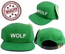 WOLF 5 PANEL ODD FUTURE HAT ODD FUTURE CAP WOLF GANG TYLER THE CREATOR COLOR