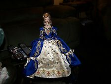 Faberge Imperial Elegance Porcelain Barbie Doll 1998  with Egg Purse