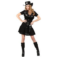 Ladies Gunslingin Cowgirl Costume for Cowboys Indians Fancy Dress Womens