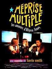 Affiche 40x60cm MÉPRISE MULTIPLE (CHASING AMY) 1997 Ben Affleck, Jason Lee NEUVE