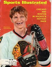 1970 4/6 Sports Illustrated magazine Hockey Keith Magnuson,Chicago Blackhawks Fr