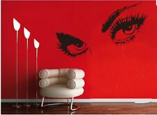 AUDREY HEPBURN'S BEAUTIFUL EYES Wall Decal Sticker Quote DIY Vinyl Home Decor