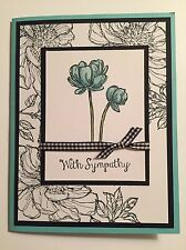 Stampin Up Bloom With Hope Sympathy Card Kit