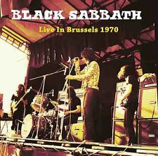 BLACK SABBATH Live In Brussels 1970 UK LP great sound NOT Paranoid Vertigo VINYL