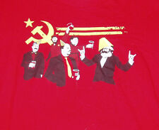 Threadless The Communist Party Funny Soft Adult Medium Red Shirt