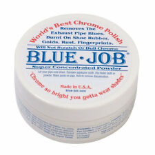 BlueJob Chrome & Stainless Steel Metal Polish 1oz tub Motorcycle Exhausts 1oz