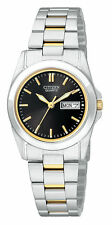 New Citizen Women's Dress Two Tone Stainless Steel Watch EQ0564-59E