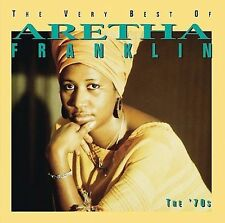 ARETHA FRANKLIN GREATEST HITS THE 70'S RHONE  CD MUSIC NEW SEALED PROMO