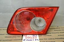 2004-2005-2006 Mazda 6 Right Pass inner trunk lid Genuine Oem tail light 27 3C2
