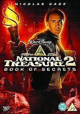 National Treasure 2 - Book Of Secrets  DVD Nicolas Cage, Diane Kruger, Jon Voigh