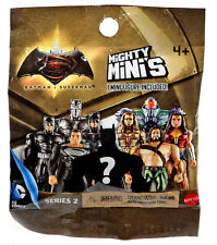 5x MATTEL & DC MIGHTY MINI/Series 2/Mini Figure Mystery Packs/Batman v Superman