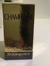 BNIB YSL Champagne Perfume Edt DISCONTINUED 50ml spray bottle Sealed