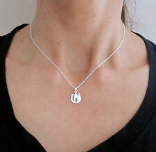 925 Sterling silver small HORSESHOE HORSE with necklace