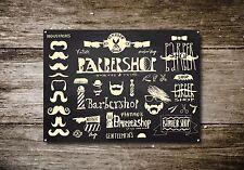Barber Shop Sign, Metal Sign, Barber Shop Signs, Modern Style, Barber Shop, 647