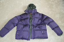 Prada Purple Feather Down Hooded Coat Jacket Size 54 Mens Extra Large XL