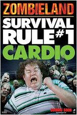 Zombieland movie poster - Survival Rule # 1 Cardio : 11.5 x 17 inches