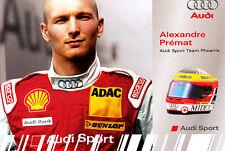 Alexandre Premat Audi Sport Dtm Tarjeta Promo Muy Raro,