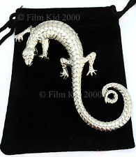 HOBBIT LORD OF THE RINGS SARUMAN LIZARD BROOCH PIN TWO TOWERS RETURN OF THE KING