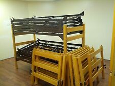 CLOSEOUT camp dorm used BUNK ABLE BEDS -1000'S SOLD - BULK DISCOUNTS. CAN SHIP!