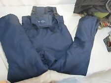 Faded Glory Youth Blue Snow Suit /Ski Bibs Snow Pants Snow Boarding 130047