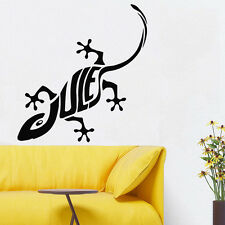 Wall Room Decor Art Vinyl Sticker Mural Decal Lizard Chameleon Iguana Cool FI509