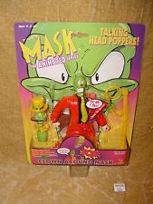 MOC THE MASK THE ANIMATED SERIES - TALKING HEAD POPPERS CLOWN AROUND MASK FIGURE