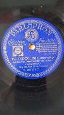 JAZZ 78 rpm RECORD Parlophon HARRY ROY Orquesta EL SOMBRERO DE COPA Film