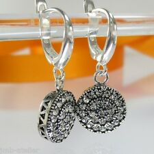 A578 Ohrringe Earrings 925 Silber Schmuck mit Swarovski Elements Kristalle