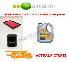 PETROL OIL AIR FILTER KIT + LL 5W30 OIL FOR NISSAN MURANO 3.5 256 BHP 2008-14