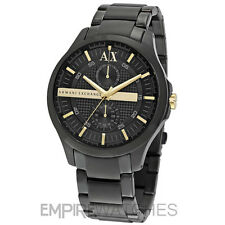 *NEW* MENS ARMANI EXCHANGE BLACK GOLD CHRONOGRAPH WATCH - AX2121 - RRP £165.00