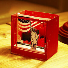 3D Pop Up New York Greeting Cards Birthday Christmas Valentine Anniversary