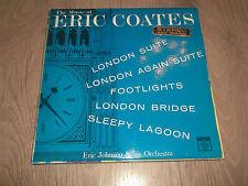 """ERIC JOHNSON & HIS ORCHESTRA """" MUSIC OF ERIC COATES """" VINYL LP VG/EX 1963"""