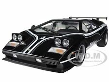 LAMBORGHINI COUNTACH LP500R BLACK 1/12 DIECAST CAR MODEL BY KYOSHO 08616