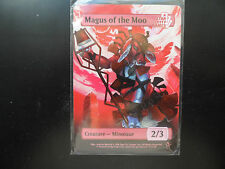 MAGIC THE GATHERING STAR CITY GAME NIGHT 2/3 MAGUS OF THE MOO TOKEN X1  FOIL