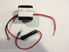 Radio Converter 6v to 12v Negative Ground