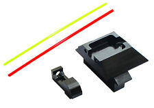 PPS Alumimun Front and Rear Sight For Marui G17 (Red/Green Fiber) PPS-0043