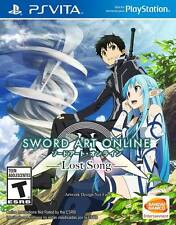 Sword Art Online Lost Song PS Vita Game English Brand New Sealed