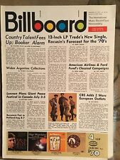 Billboard Jan 10th 1970 Brenda Lee, Judy Collins, Lennon Grand Funk Plastic Ono