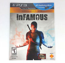 Infamous Collection for Playstation 3 PS3 NEW Sealed