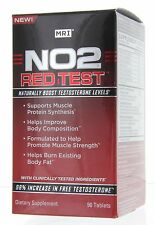 MRI NO2 RED TEST 90Tablets Naturally Boost Testosterone , Fat Burner Sale