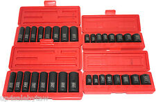 TEKTON 36 PC. 3/8'' DR.SHALLOW and DEEP IMPACT SOCKET SET SAE/METRIC -PRO GRADE
