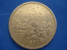 PIECE MONNAIE 5 FRANCS 1971 REPUBLIQUE FRANCAISE