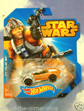 EXCELLENT MATTEL HOT WHEELS STAR WARS LUKE SKYWALKER X-WING CAR MINT & CARDED