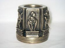 Erotic Pen Holder / Bronze Ornament Figurine