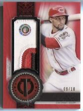 Billy Hamilton 2017 Topps Tribute Certified Stamp of Approval Relic Patch 9/10
