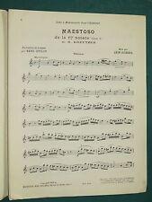 Partitions Maestoso 1ere sonate KREUTZER rev; L. ZIGHÉRA
