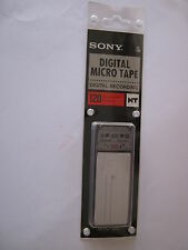 RARE SONY MICRO NTC  DIGITAL MICRO TAPE 120Minutes FOR NT1-NT2 MICRO RECORDERS