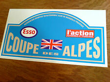 COUPE DES ALPES Classic Race Rally Motorsport Sticker Decal 1 off 300mm