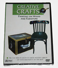 CREATIVE CRAFTS-  Painting On Wood and Furniture - DVD - NEW SEALED BOX