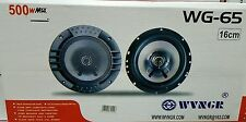 CASSE AUTO COPPIA ALTOPARLANTI SPEAKER 500 WATT DIAMETRO 16 CM COASSIALE A 2 VIE